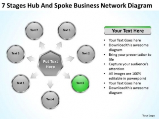 PowerPoint Presentation Network Diagram Ppt 4 90 Day Business Plan