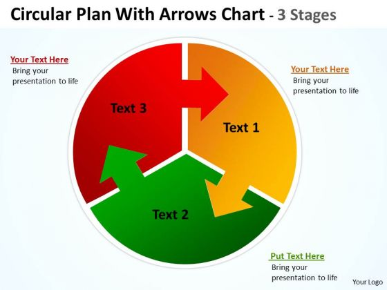 3 arrow circle diagram two humbucker wiring business cycle circular plan three with arrows templates chart stages consulting 1