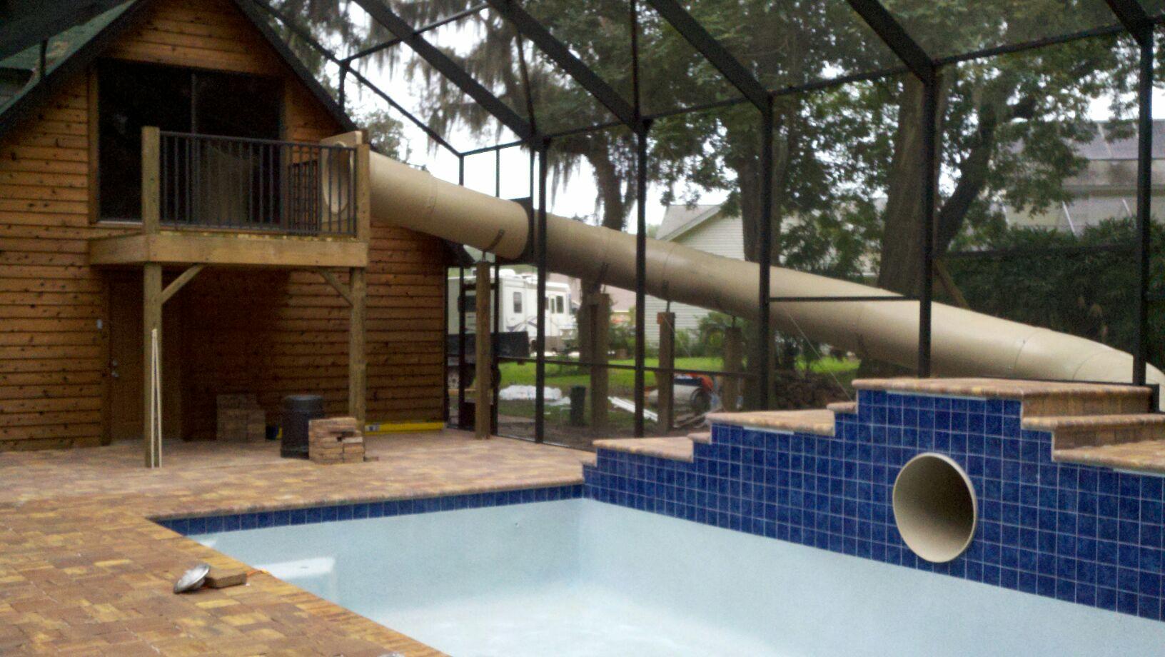 Pool Slide – Custom – Slide Innovations