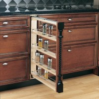 Base Cabinet Pull Out Spice Rack 3 6 or 9 wide