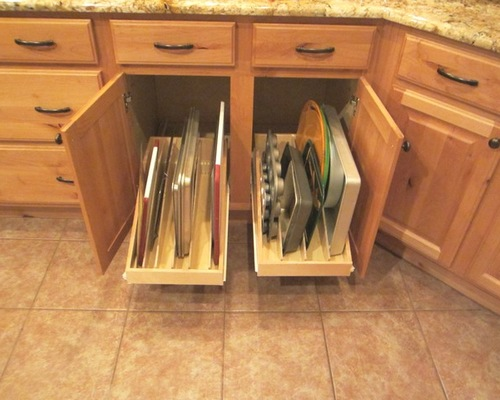 kitchen cupboard protectors stove fan pull out shelves | slide - llc