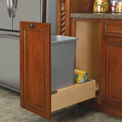 Kitchen Cabinet Corner Protectors American Standard Sink 35 Qt Wood Base Mount Pull Out Trash