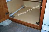 Installing Pull Out Drawers In Kitchen Cabinets. Kitchen
