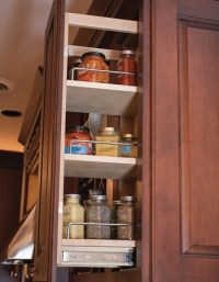 Pull Out Spice Rack Upper Cabinet 8 Wide