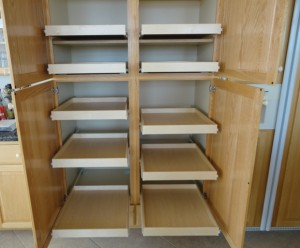 kitchen base cabinet pull outs cheap cabinets for retrofit pantry shelves pull-outs