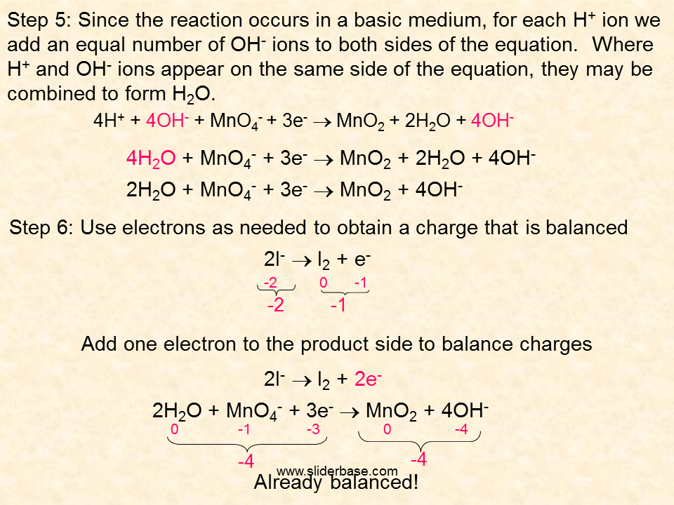 Reactions Equation Adding