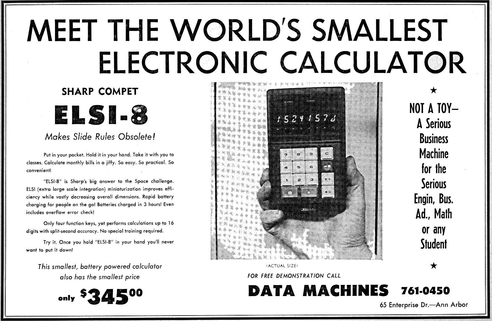 first ti calculator