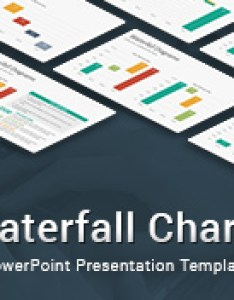 also waterfall charts diagrams powerpoint template slidesalad rh