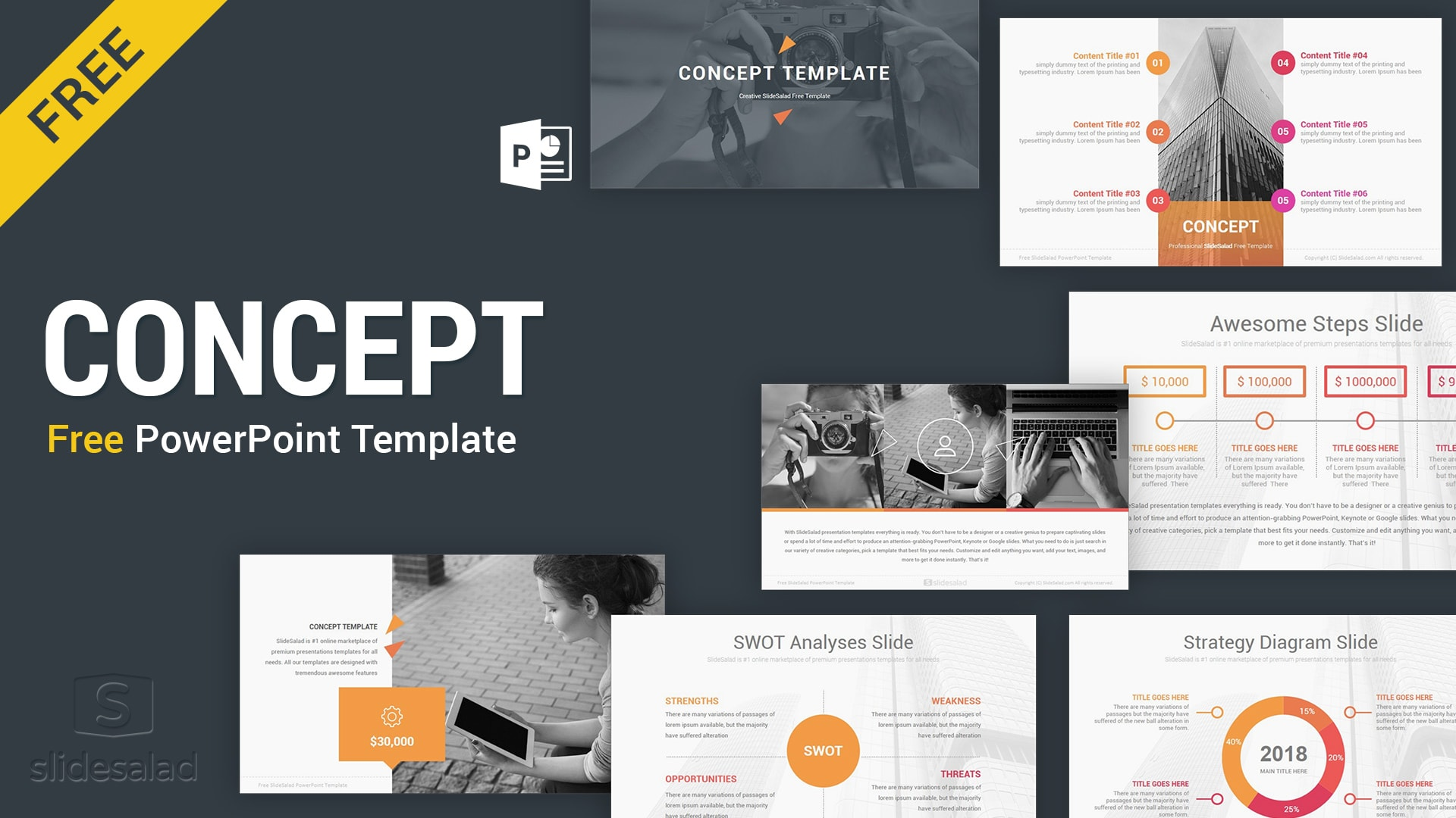 concept free powerpoint presentation