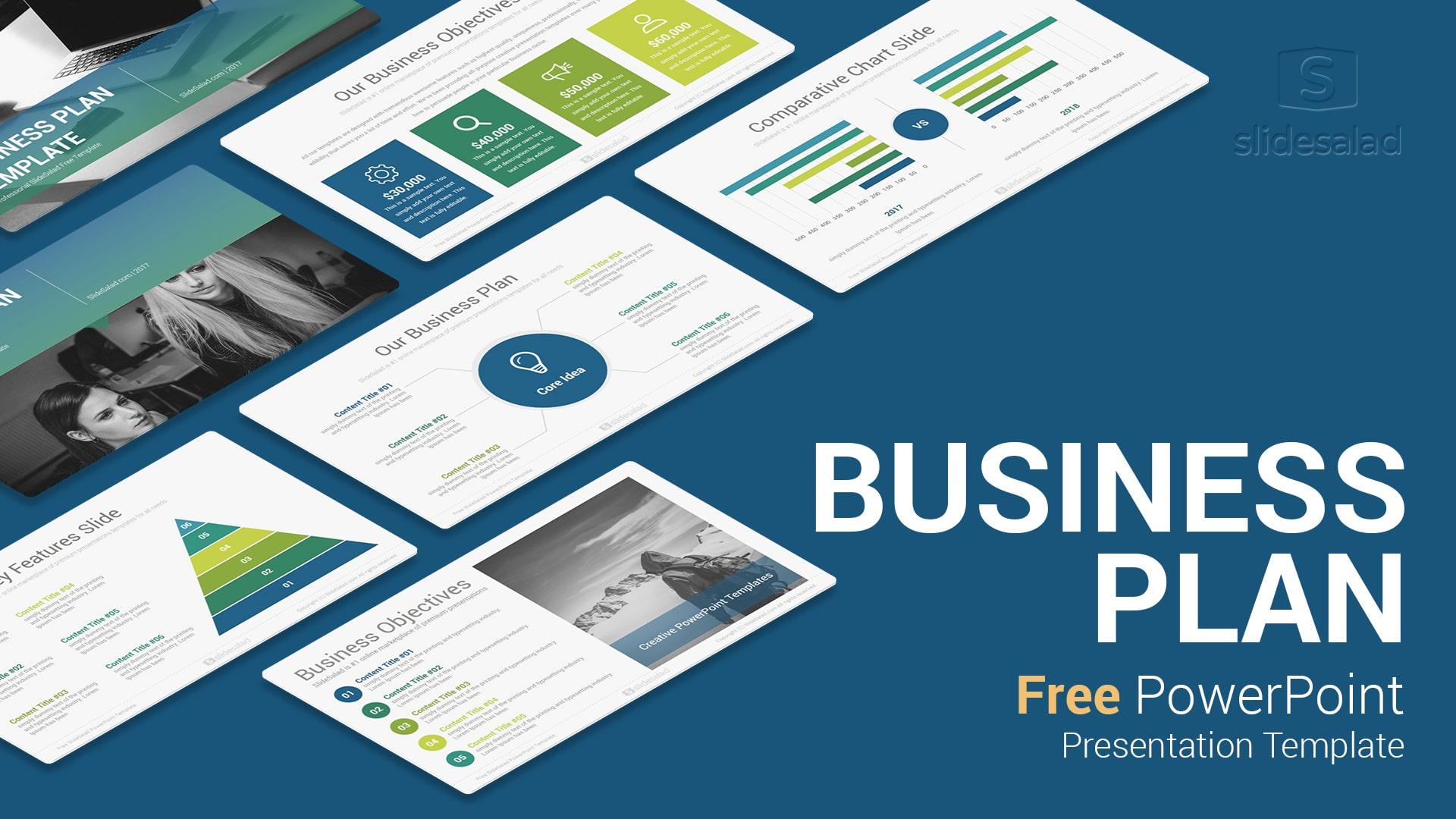 Business Plan Free Powerpoint Presentation Template