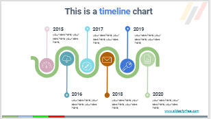 free timeline infographics charts