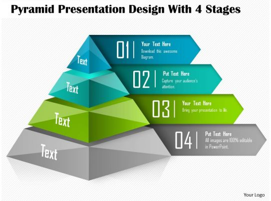 health triangle diagram template toyota corolla wiring stereo 0514 pyramid presentation design with 4 stages powerpoint | ...