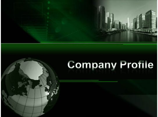 0914 Company Profile Powerpoint Presentation PowerPoint