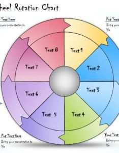 Business ppt diagram stages wheel rotation chart powerpoint template also rh slideteam