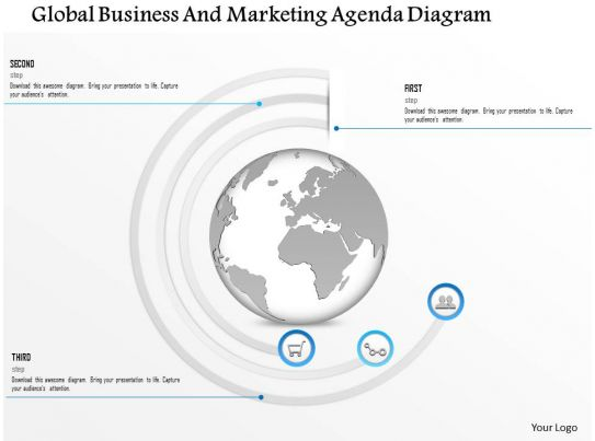 1114 Global Business And Marketing Agenda Diagram