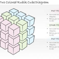 Process Diagram Template Excel Taco Zone Valve Wiring 1814 Business Ppt 3d Two Colored Rubik Cube Powerpoint | Images ...