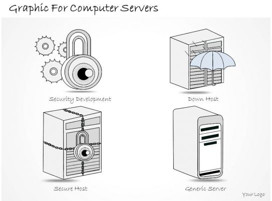 1814 Business Ppt Diagram Graphic For Computer Servers