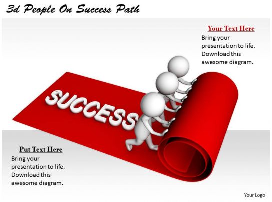 net diagrams of 3d shapes 2002 ford escape radio wiring diagram 2513 people on success path ppt graphics icons powerpoint | presentation images ...