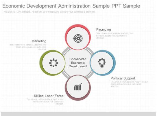 A Economic Development Administration Sample Ppt Sample