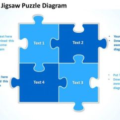 Communication Cycle Diagram 2004 Kia Spectra Wiring Blue Jigsaw Puzzle Powerpoint Templates Ppt Presentation Slides 0812