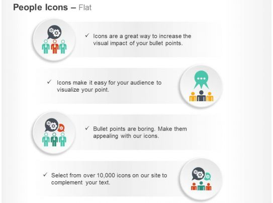 Business Communication Team Discussion Ppt Icons Graphics