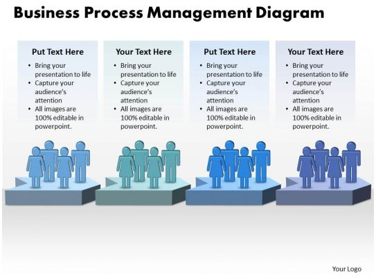 Business Process Management Diagram 22 PowerPoint Slide Clipart Example Of Great PPT