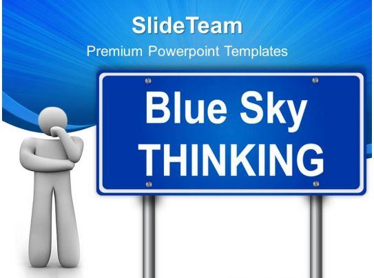 Business Strategy Execution Templates Thinking Signpost