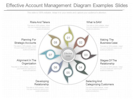 Custom Effective Account Management Diagram Examples