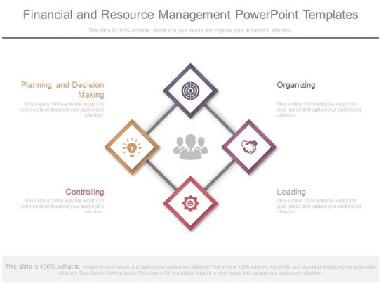 Financial And Resource Management Powerpoint Templates
