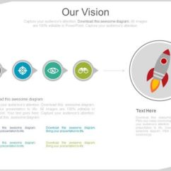 Agile Process Flow Diagram Ansul System Wiring Linear With Rocket And Business Icons For Vision Powerpoint Slides ...
