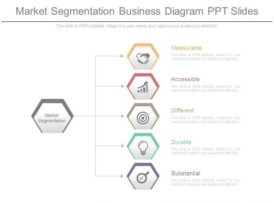 Market Segmentation Business Diagram Ppt Slides