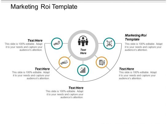 Marketing Roi Template Ppt Powerpoint Presentation