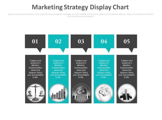 Marketing Strategy Display Chart Ppt Slides PowerPoint Slide Template Presentation Templates