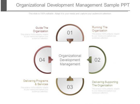 Organizational Development Management Sample Ppt