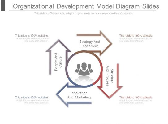 Organizational Development Model Diagram Slides