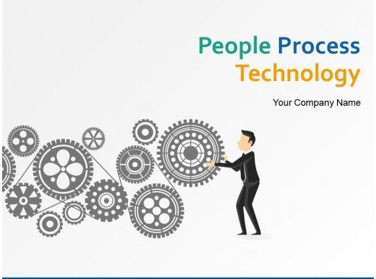 People Process Technology Powerpoint Presentation Slides