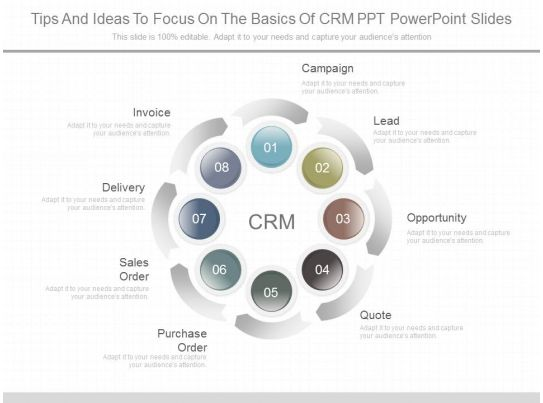 Ppts Tips And Ideas To Focus On The Basics Of Crm Ppt