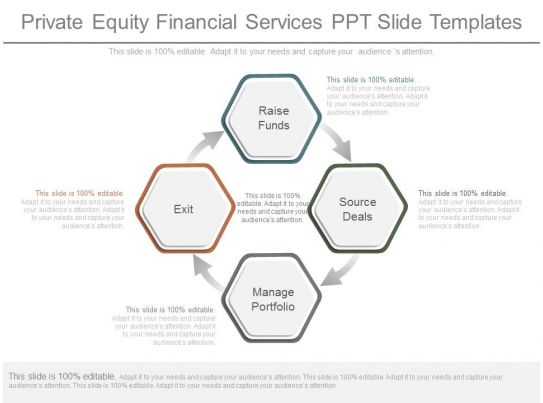 private equity financial services ppt slide templates