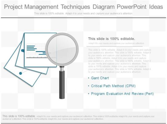 Project Management Techniques Diagram Powerpoint Ideas