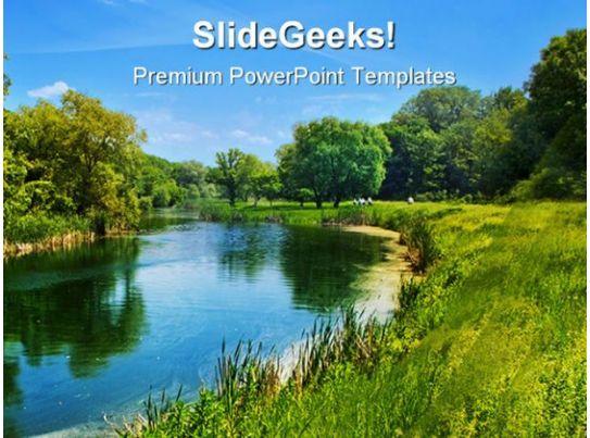 sunny landscape nature powerpoint