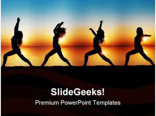 Yoga Health PowerPoint Templates And PowerPoint
