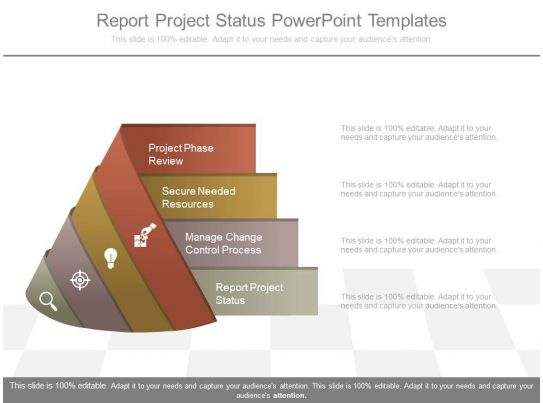 Report Project Status Powerpoint Templates PowerPoint