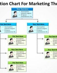 Sample business powerpoint presentation organization chart for marketing theme templates slides template ppt also rh slideteam