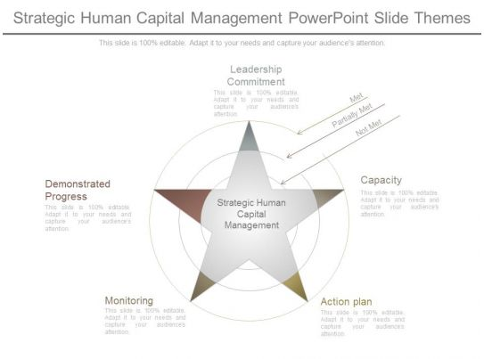 Strategic Human Capital Management Powerpoint Slide Themes