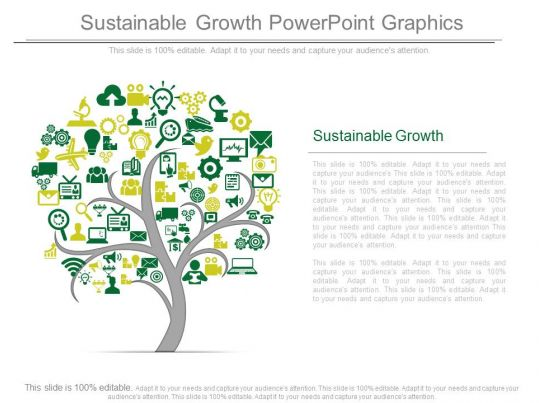 Sustainable Growth Powerpoint Graphics Presentation