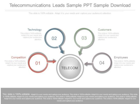 Telecommunications Leads Sample Ppt Sample Download