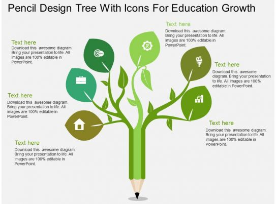 Ladder Diagram Definition Uj Pencil Design Tree With Icons For Education Growth Flat
