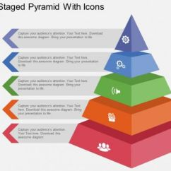 Net Diagrams Of 3d Shapes Modine Gas Heater Wiring Diagram Use Five Staged Pyramid With Icons Flat Powerpoint Design | Presentation Templates ...