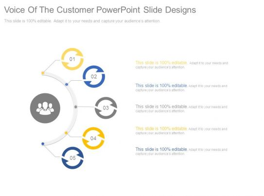 Voice Of The Customer Powerpoint Slide Designs