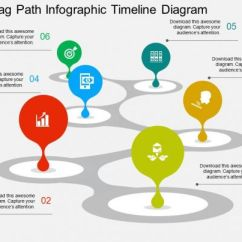 Input Diagram Template 2006 Chevy Truck Radio Wiring Zigzag Path Infographic Timeline Flat Powerpoint Design | ...